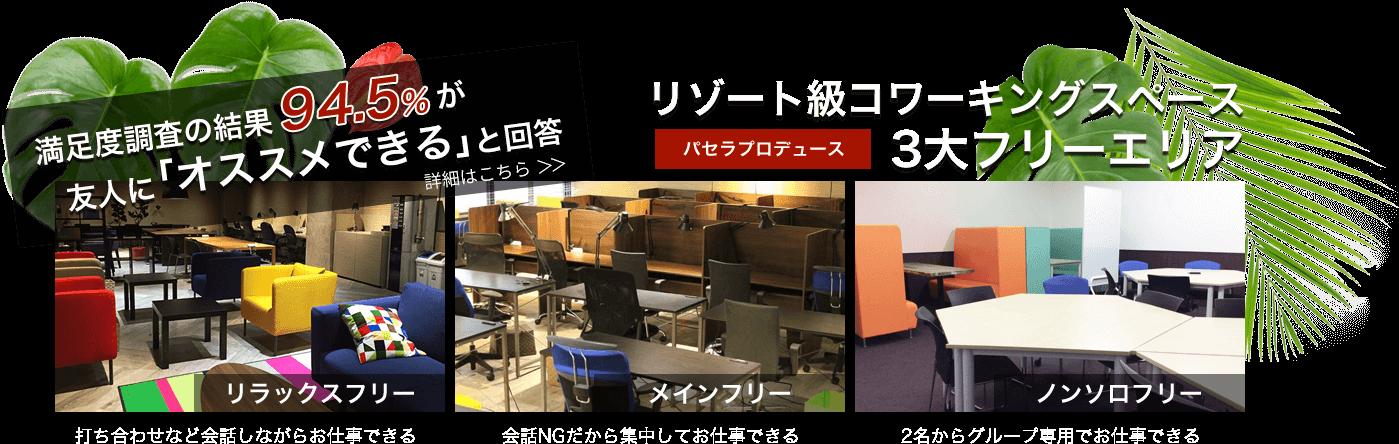 パセラのコワーク東新宿店